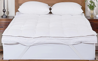 Microfiber / Feather Mattress Topper PRD-TT16004
