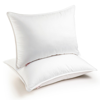 White Duck Feather Pillow PRD-DP7004